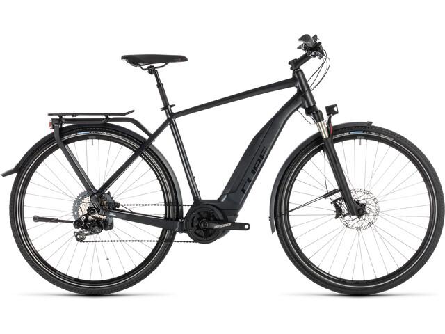 Cube Touring Hybrid SL 500 E-trekkingcykel grå (2019) | City